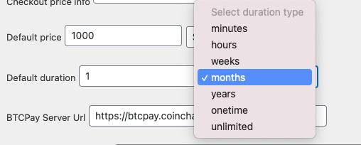 Lightning Paywall Default duration