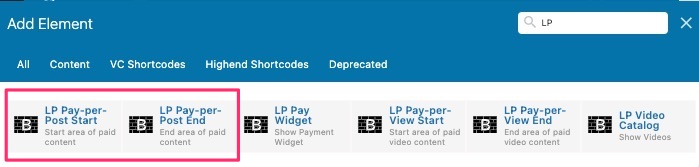 WPBakery Pay-per-Post