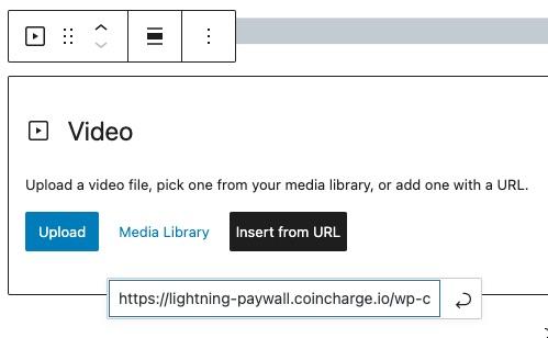 Add Video on Gutenberg editor