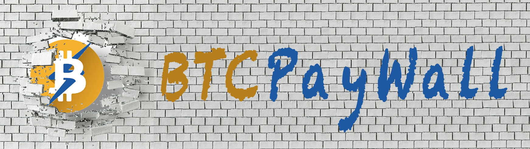 BTCPayWall - Bitcoin Paywall for WordPress